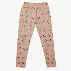 Marie Leggings Cat in Rose