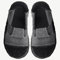 "Gray ""Berg"" Slippers"
