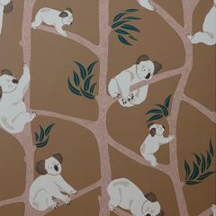 Koala Wallpaper in Mustard