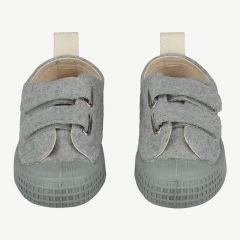 Sneakers in Grau Melange