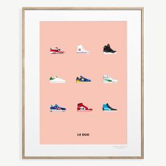 "LE DUO ""Sneakers"" Poster"