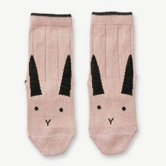 """Silas"" Socken Hase in Rosa, 2er-Pack"