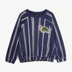 Turtle Sweatshirt aus Bio-Baumwollmix in Navy