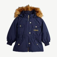 Funktionsjacke aus recyceltem Material in Navy