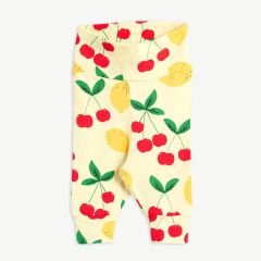 Cherry Lemonade Leggings aus Bio-Baumwolle in Gelb