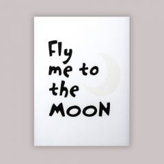 """Fly Me To The Moon"" Poster"