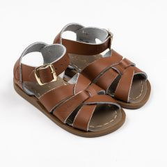 Original Ledersandalen für Kinder in Tan