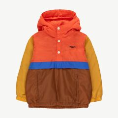 Color Block Windbreaker Jacke
