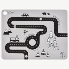 "Gray ""Adventure"" Placemat"
