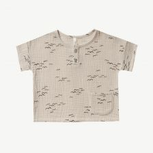 Flock Shirt in Natur