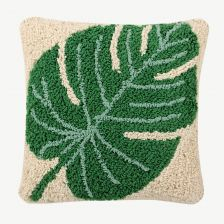 """Monstera"" Kissen in Natur"