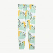 Unicorn Noodles Leggings aus Tencel in Grün