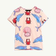 Dolphin T-Shirt in Rosa