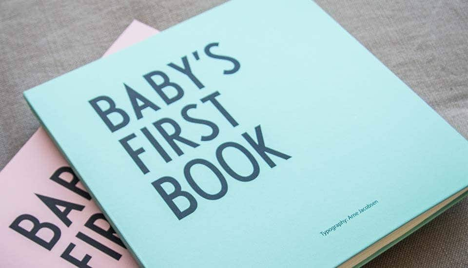 Babyparty Baby first book